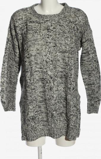 BRAVE SOUL Rundhalspullover in M in schwarz / weiß, Produktansicht