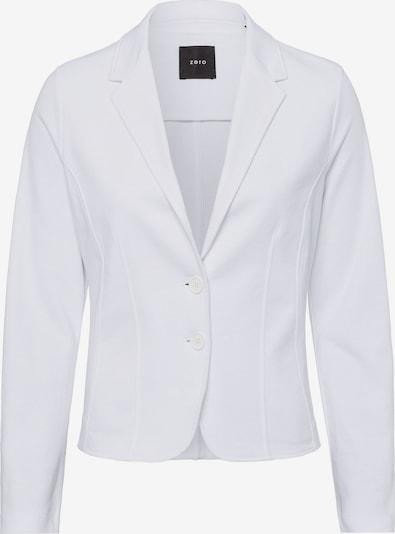 zero Jerseyblazer in weiß, Produktansicht
