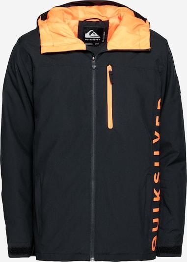QUIKSILVER Outdoorová bunda 'MORTON' - oranžová / černá, Produkt