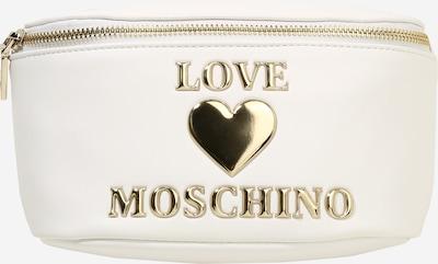 Love Moschino Gürteltasche in gold / naturweiß, Produktansicht