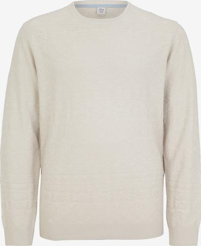 s.Oliver BLACK LABEL Pullover in beige, Produktansicht