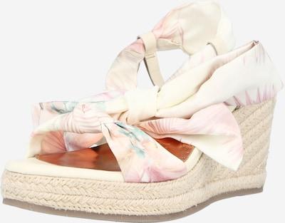 Ted Baker Sandaler 'Kelisan' i creme / turkis / pastelpink / lys pink, Produktvisning