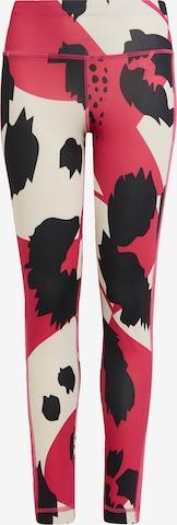 Pantalon de sport ADIDAS PERFORMANCE en rouge