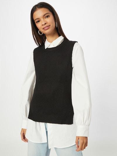 JDY Jersey 'RUE' en negro, Vista del modelo