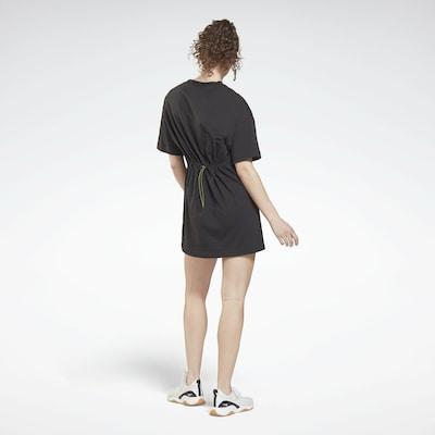 REEBOK Kleid 'Myt' in gelb / schwarz, Modelansicht