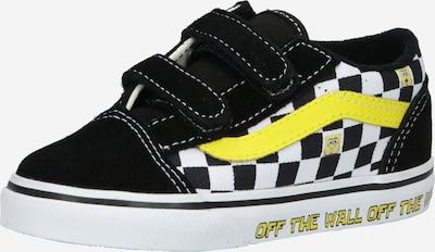 VANS Sneaker 'TD Old Skool V' in gelb / schwarz / weiß, Produktansicht