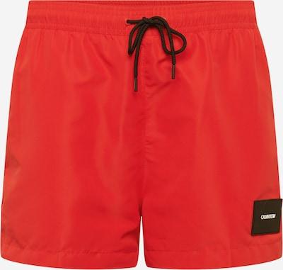 Maudymosi trumpikės 'DRAWSTRING' iš Calvin Klein Swimwear , spalva - raudona, Prekių apžvalga