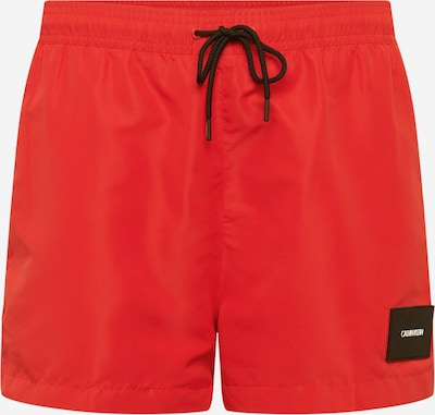 Calvin Klein Swimwear Kupaće hlače 'DRAWSTRING' u crvena, Pregled proizvoda