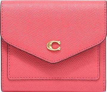 COACH Lommebok i rosa