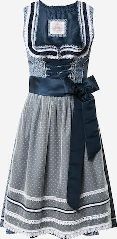 Rochițe tiroleze 'Murna' de la MARJO pe albastru