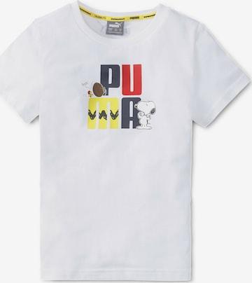 T-Shirt PUMA en blanc