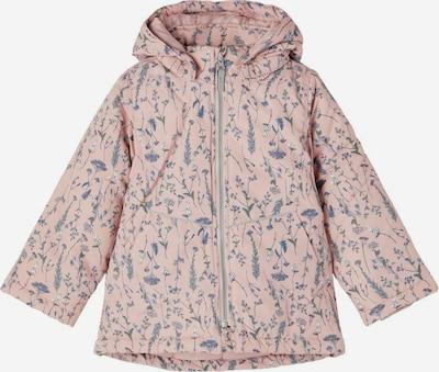 NAME IT Veste d'hiver en bleu / vert / rose / blanc, Vue avec produit