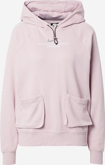 Bluză de molton Nike Sportswear pe roz pastel / argintiu / alb, Vizualizare produs