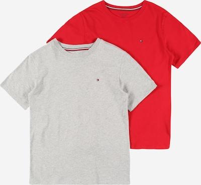 Tommy Hilfiger Underwear T-Shirt en gris chiné / rouge, Vue avec produit