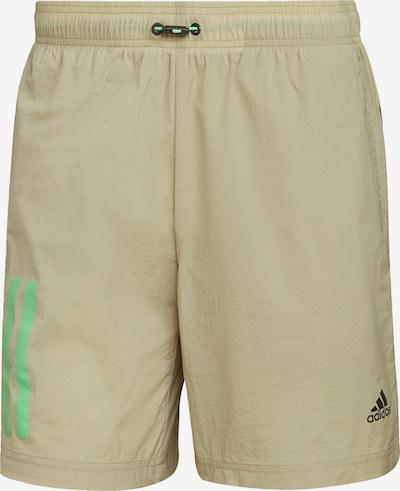 ADIDAS PERFORMANCE Shorts in oliv / kiwi / schwarz, Produktansicht