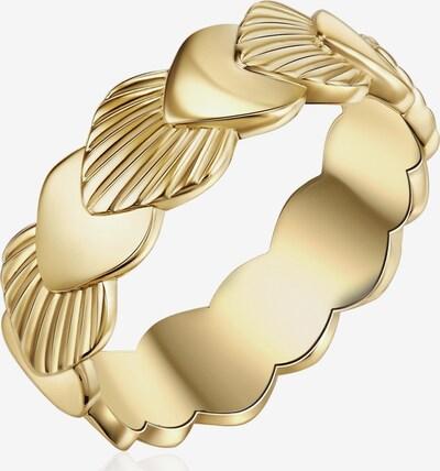 Glanzstücke München Silber-Ring in gold, Produktansicht