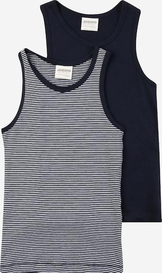 JACKY Onderhemd in de kleur Kobaltblauw / Wit, Productweergave