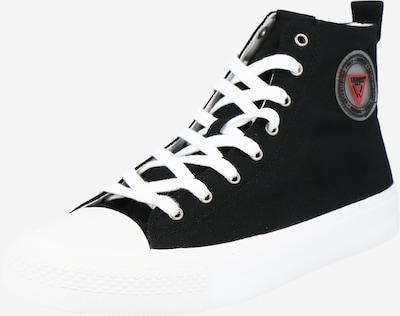 GUESS Hög sneaker 'EDERLE' i svart, Produktvy