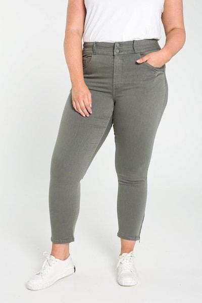 Paprika Hose 'Louise' in khaki, Modelansicht