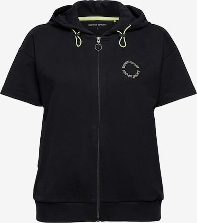 ESPRIT Pullover in gelb / schwarz, Produktansicht