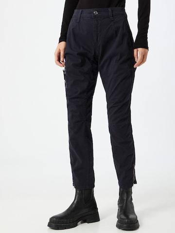 Pantaloni 'Rich' de la MAC pe albastru
