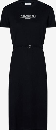 Calvin Klein Poletna obleka | črna / bela barva, Prikaz izdelka