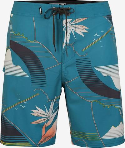 O'NEILL Boardshorts 'Hyperfreak Waka' in blau / dunkelblau / orange / weiß, Produktansicht