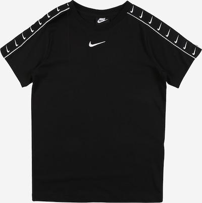 Nike Sportswear Shirt in schwarz / weiß, Produktansicht