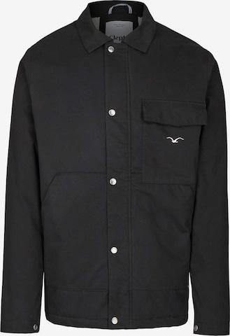Cleptomanicx Jackets 'Coaches Coat' in Schwarz