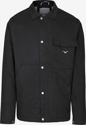Cleptomanicx Jackets 'Coaches Coat' in schwarz, Produktansicht