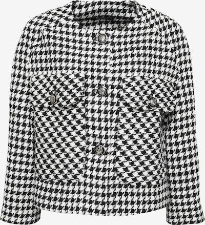 Madam-T Kurzblazer 'EDEN' in schwarz / weiß, Produktansicht