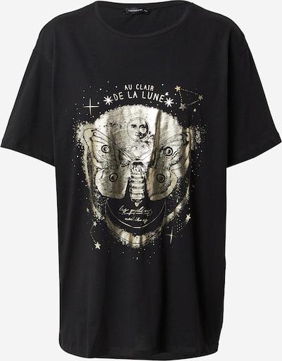 Trendyol Shirt in Gold / Black, Item view