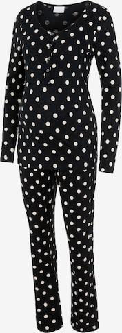Pyjama 'CHILL' MAMALICIOUS en noir