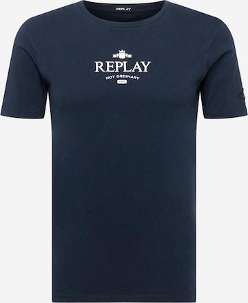 REPLAY T-Shirt in Blau