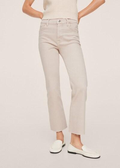 MANGO Jeans 'Sienna' in sand, Modelansicht