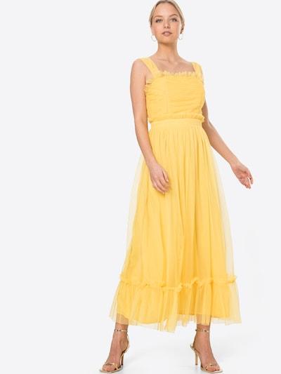 Rochie de cocktail 'ANAYA' Maya Deluxe pe galben, Vizualizare model