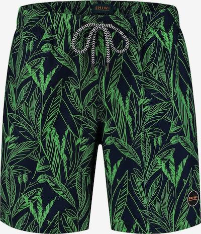 Shiwi Kupaće hlače u mornarsko plava / neonsko zelena, Pregled proizvoda