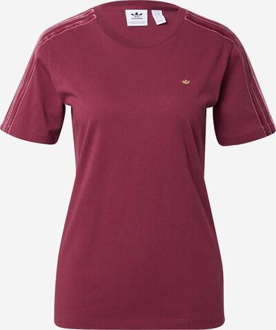 ADIDAS ORIGINALS Shirt in Gold / Bordeaux, Item view