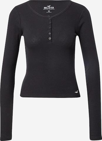 HOLLISTER Sweter w kolorze czarny