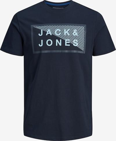 Tricou JACK & JONES pe bleumarin / albastru fumuriu, Vizualizare produs