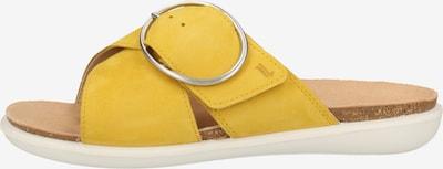 Legero Mule en jaune, Vue avec produit