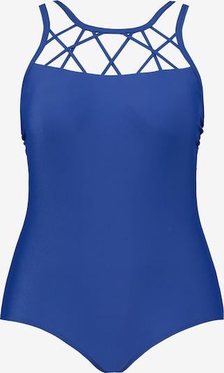 Ulla Popken Badeanzug 722024 in blau, Produktansicht