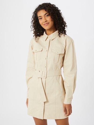 NA-KD Kleid in beige, Modelansicht