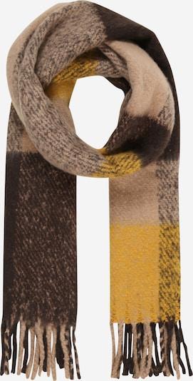 PIECES Šála 'Uljic' - béžová / žlutá, Produkt