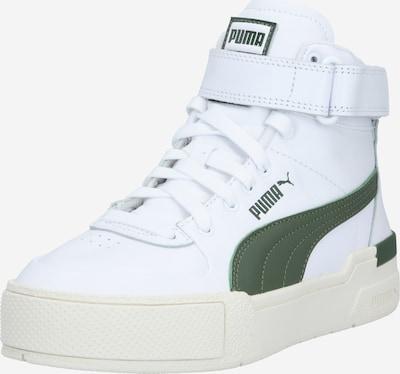 PUMA Baskets hautes 'Cali' en vert / blanc, Vue avec produit