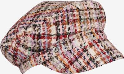 LOEVENICH Bonnet ' Multicolor ' en mélange de couleurs, Vue avec produit