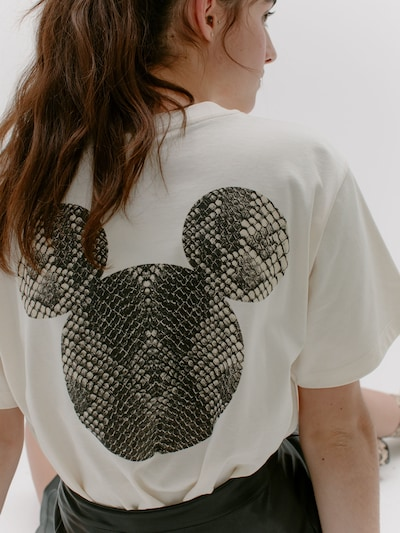 ABOUT YOU x Disney Shirt 'Malou' in offwhite, Produktansicht