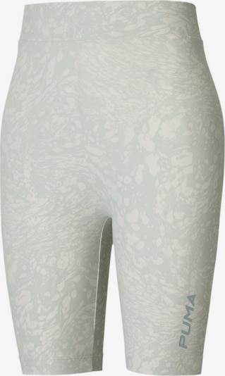 PUMA Pantalon de sport en gris clair / blanc, Vue avec produit