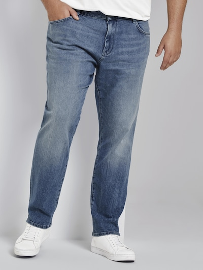 TOM TAILOR Men Plus Jeans in blue denim, Modelansicht