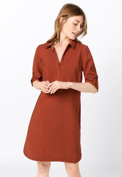 HALLHUBER Kleid in kupfer / rot, Modelansicht